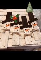 Sneeuwpop plank