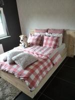 Bed steigerhout Gabriella
