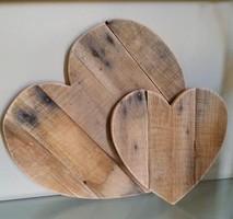 Hart van steigerhout